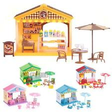 Plastic Children Kids Pretend Play Toys House Pavilion Table Chairs New