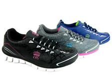 Women's Athletic Sneakers Shoes Light Weight Tennis Running Walking Gym Leather
