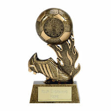 Football Trophies  - FREE ENGRAVING - Football Player Boot Sports Trophy Award