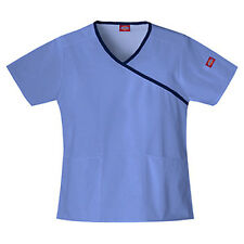 DICKIES MEDICAL UNIFORM WOMAN'S SCRUB TWO PKT TOP  #15206 Clearance Sale