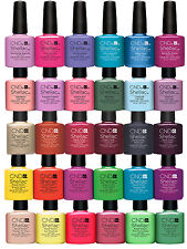 CND SHELLAC UV Nail Polish, Choose ALL From New 2015 Colours, Top & Base Coat