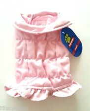 Free Gift Xs S M New Warm Cozy Pink Puffy Parka Dog Coat Pet Clothes Dog Shirt