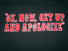 HELLS ANGELS SUPPORT T-SHIRT APOLOGIZE CLEARANCE