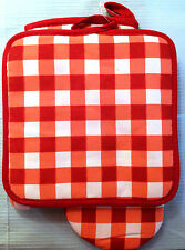 Kitchen Baking Oven Mitt Hot Pad Pot Holder Matching Set