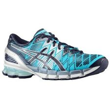 NIB Asics Gel Kinsei 5 Men's running shoes Turquoise-White-Navy-- sizes