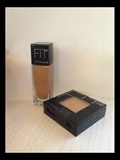 Maybelline FIT me! Liquid Foundation & Pressed powder combo YOU PICK COLOR lot