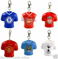 OFFICAL FOOTBALL CLUB SOFT FAN STRESS SHIRT BAG CHAIN CHARM KEYRING