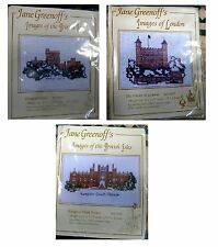 Jane Greenoff IMAGES OF LONDON & BRITISH ISLES Cross Stitch Kits Your Choice