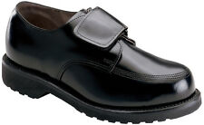 Men's Thorogood Uniform Shoes Leather Velcro Enclosure (EE+) Black 834-6051