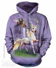 Unicorn Castle Pullover Hoodie from The Mountain - Sizes Adult S - 2X
