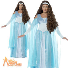 Adult Daenerys Costume Medieval Maiden Game of Thrones Fancy Dress Outfit New