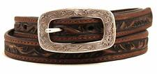 Ariat Western Belt Womens Leather Embossed Brown A1515602