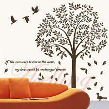 Love Tree Quote Motto Poem Removable Art Vinyl Wall Stickers Decor Mural Decal