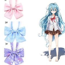 Japanese kawaii bowknot bow tie Lolita student uniform neck tie shivering