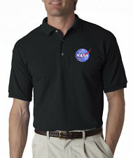 Nasa Meatball Insignia Embroidered Polo Shirt S-5XL 3 Colors