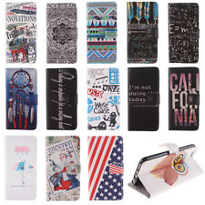 Magnetic Wallet PU Leather Card Flip Stand Fashion Luxury Case Cover For