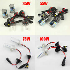 35W/55W/75W/100W HID Xenon Headlamp Light Kit 3000K 4300K 6000K 8000K H1-H11 All