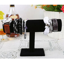 Hot 1-Tier Velvet Watch/Bracelet Jewelry Display Organizer Stand Holder 3 Color
