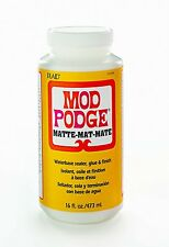 MOD PODGE MATT Waterbase Sealer Glue Matte 8OZ / 236ML 16OZ / 473ml modge pod