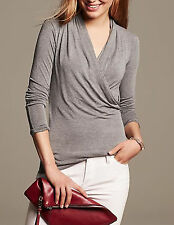 NWT Banana Republic New $49.50 Women Draped Jersey Top Size S, M, L, XL