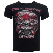 Official T Shirt AVENGED SEVENFOLD Black BATTLE ARMOUR Band Tee All Sizes