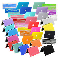 """2IN1 Rubberized Laptop Hard Case+Keyboard Cover for Macbook Pro 13/15""""Air 11/13"""""""