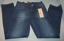 Levi's Women's Distressed Skinny Fit Stretch Jeans SIZES! Petite NWT Blue