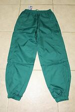 Wind breaker track running warm up green pants M - 2XL NWT