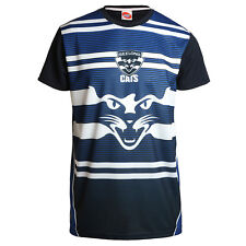 Geelong Cats AFL Footy Mens Premium Polyester Training Tee