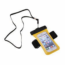 Waterproof Case Armband Strap Bag Pouch For Apple iPhone 5 5th 5G Gen+BK Stylus