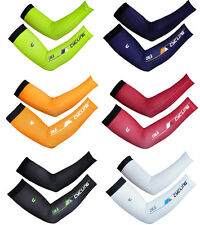 Cycling Bicycle UV Sun Protection Unisex Arm Sleeve Warmers Bike Sleeve Cover