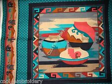 Native American Indian cotton quilt pillow panel fabric set *Choose design