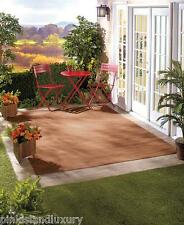 LARGE INDOOR OUTDOOR  Deck Patio Sunroom Balcony AREA RUG Stain Mold Resistant
