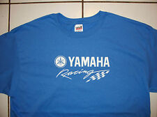 Yamaha Racing Screen Printed Iris T-Shirt 100% Heavy Cotton Pre Shrunk ATV MC