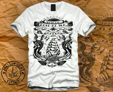 T-SHIRT TATTOO WASTED SAILOR TUMBLR DIRTY HIPSTER SWAG OBEY JERRY DISOBEY DOPE