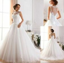 2015 New White/ivory Wedding dress Bridal Gown custom size 6-8-10-12-14-16-18+++
