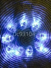 24/36/48/60/100 LED Light Up Flashing Jelly Bumpy Rings white Colors Fun Glow