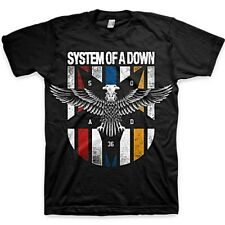 SYSTEM OF A DOWN Eagle Colors SHIRT S M L XL XXL Official T-Shirt Band Tshirt
