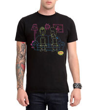 Beavis and Butthead Neon Couch T-Shirt New