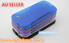 Samsung Galaxy Express S Curve Slim Soft Silicone Rubber Gel Back Cover Case