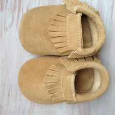 Baby toddler SUEDE moccasins leather kids shoes baby boys girl shoes moccs
