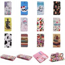 Charm Pattern Hybrid Leather Wallet Stand Case Cover For LG G2/ Google Nexus 5