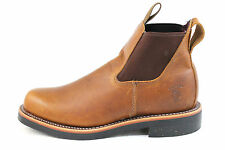 Chippewa Men's Tundra 92346 Tan Brown Leather Boots