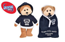 Official AFL Geelong Cats Beanie Kids Bear 21cm