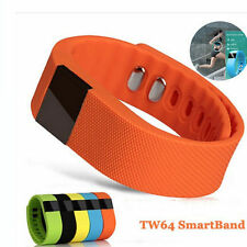 TW64 Bluetooth Wristband Bracelet SmartWatch Mobile Phone For Android/IOS iPhone