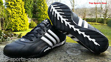 Adidas Originals Goodyear  Adi Racer Low Mens Black Trainers Shoes  Size 6 - 12