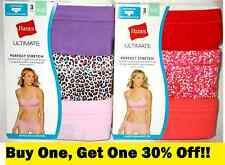 3 Pairs HANES Womens Underwear Size 5 HIPSTERS COMFORTSOFT Waistband Tagless