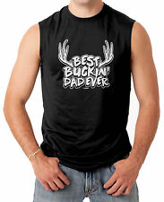 Best Buckin' Dad Ever - Father's Day Hunting Men's SLEEVELESS T-shirt