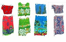 Sz S/M - NWT Stretch Top & Wrap Sarong Skirt Sets & Pants Sets Size Small/Medium
