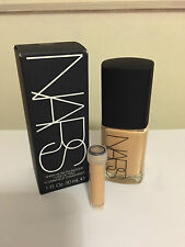 Nars sheer glow SAMPLE ONLY 2ML foundation various colours